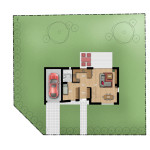 muroto2 parter 150x150 Dom Dereniowa 29 – Muroto 2 – sprzedany