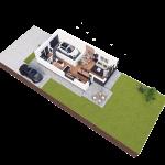 budynek 1 parter 150x150 Zacisze Aleja Parkowa (realizacja 2021/2022)