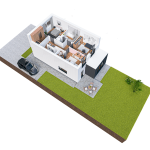 budynek 1 piętro 150x150 Zacisze Aleja Parkowa (realizacja 2021/2022)