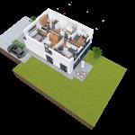 budynek 2 piętro 150x150 Zacisze Aleja Parkowa (realizacja 2021/2022)